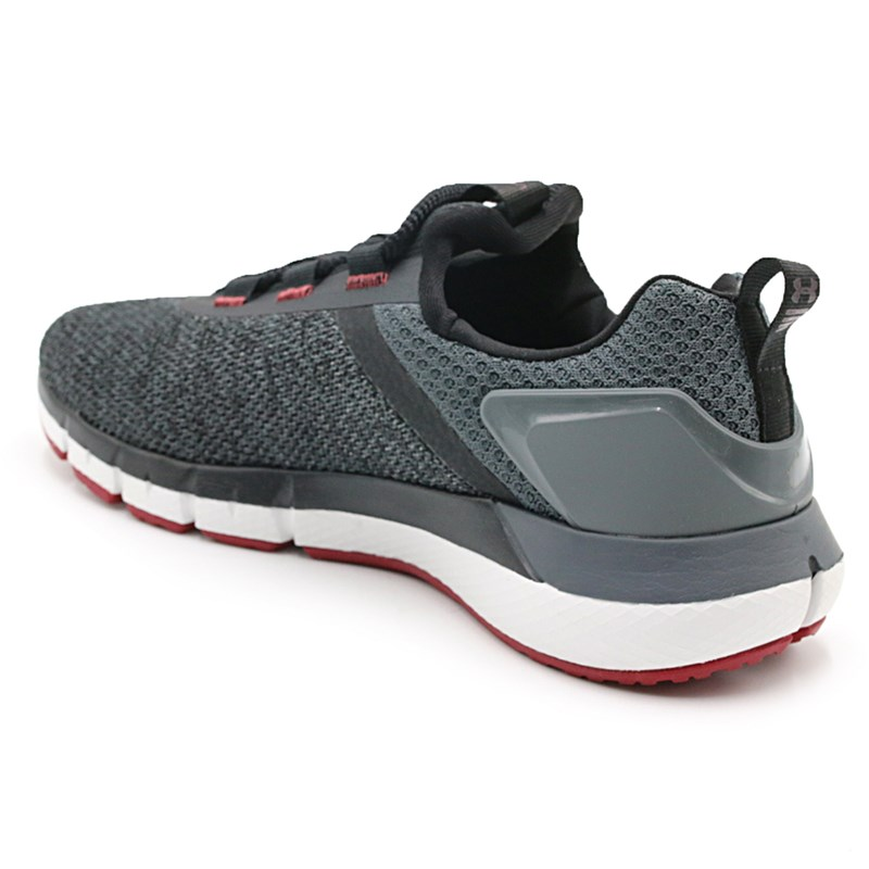 Tênis Masculino Under Armour Charged Mind Black/Gray - 232650
