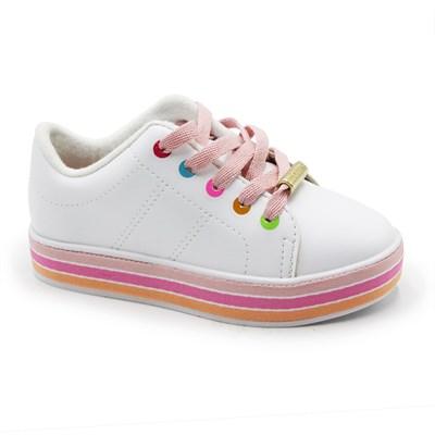 Tenis Molekinha Infantil Branco - 245953