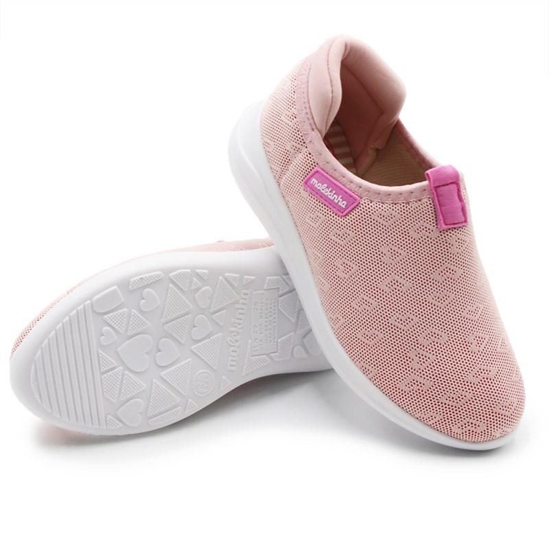 Tenis Molekinha Infantil Rosa - 243518
