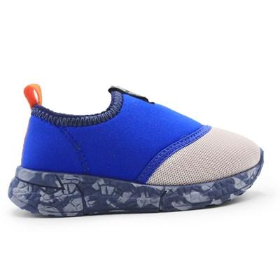 Tenis Molekinho Cinza/Azul - 234989