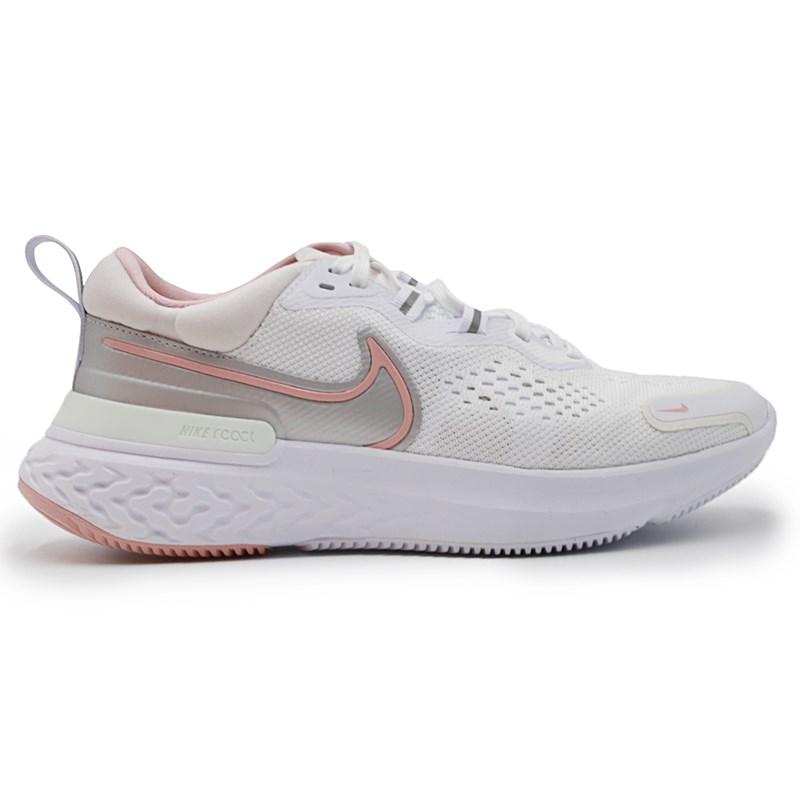 Tenis Nike React Miler 2 Branco/Rosa - 245130