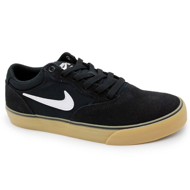 Tenis Nike Sb Chron 2 Preto/Branco - 245118