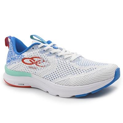 Tenis Olympikus Branco/Blue - 233598