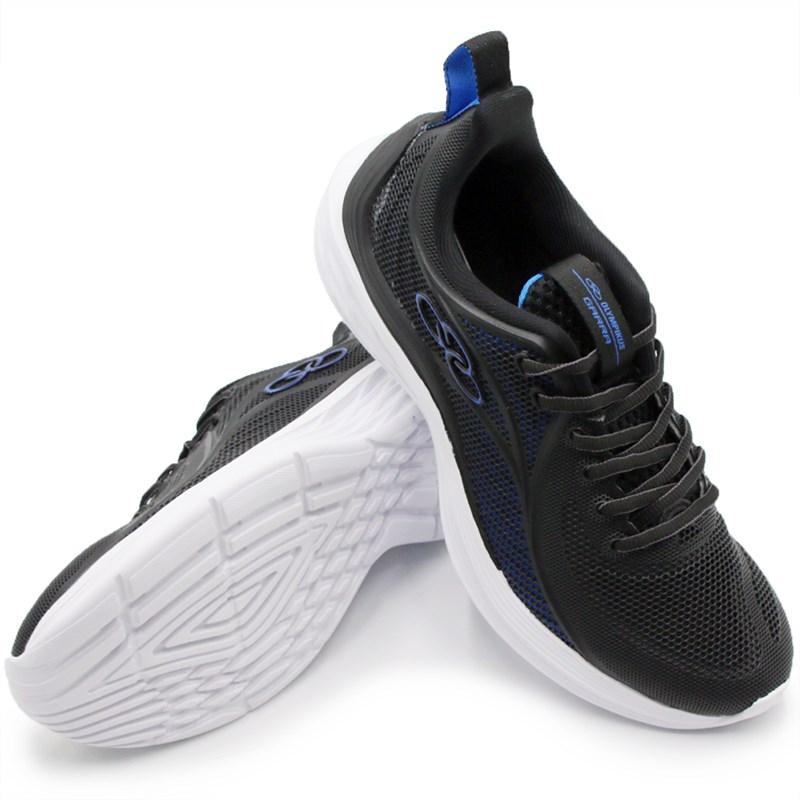 Tenis Olympikus Garra Preto/Blue - 241105