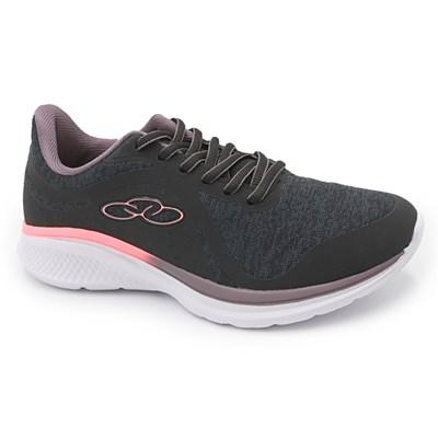 Tenis Olympikus Infantil Preto/Coral - 237456
