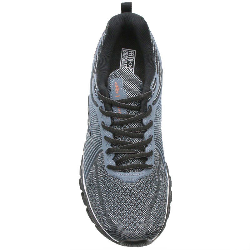 Tenis Olympikus Linear Steel/Preto - 125033