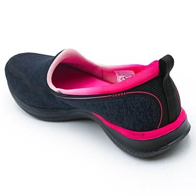 Tênis Olympikus Sunna Preto/Pink - 229838