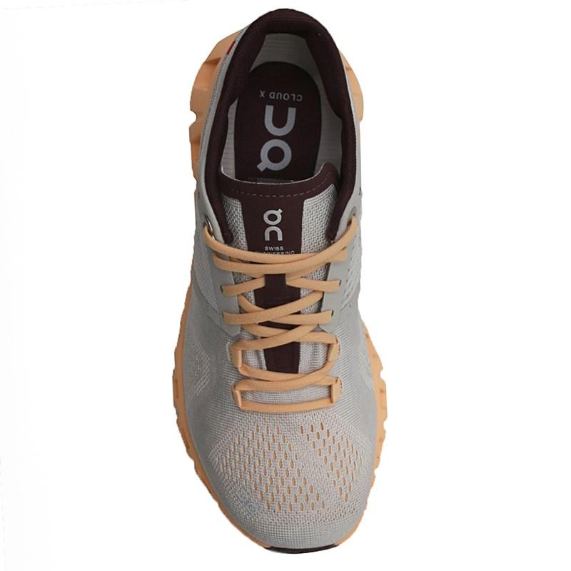Tenis On Running Cloudx Silver/Almond - 244804