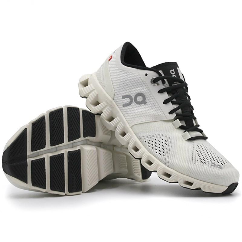Tenis On Running Cloudx White/Black - 244804