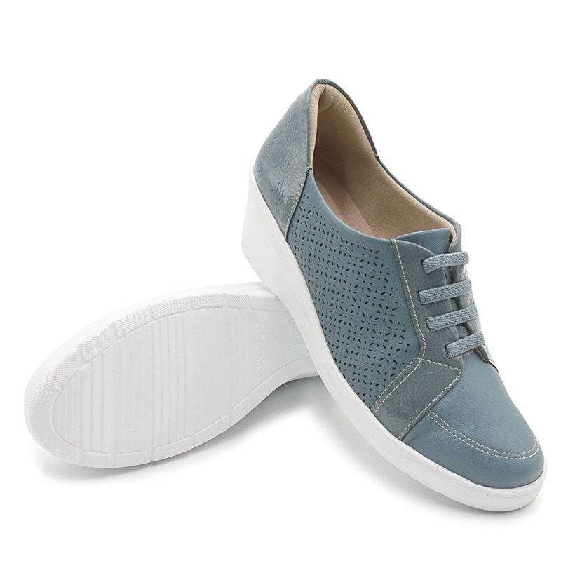 Tenis Piccadilly Azul Vintage - 233474