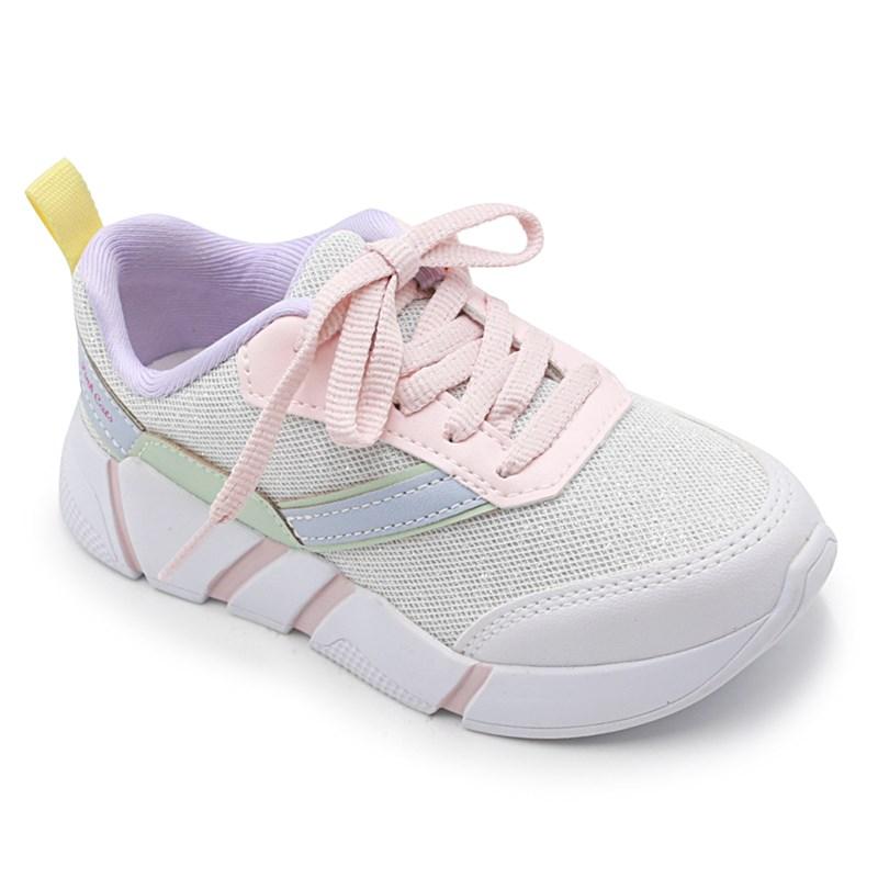 Tenis Pinkcats Branco/Off White - 233043