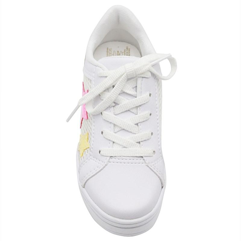 Tenis Pinkcats White/Canario - 233044