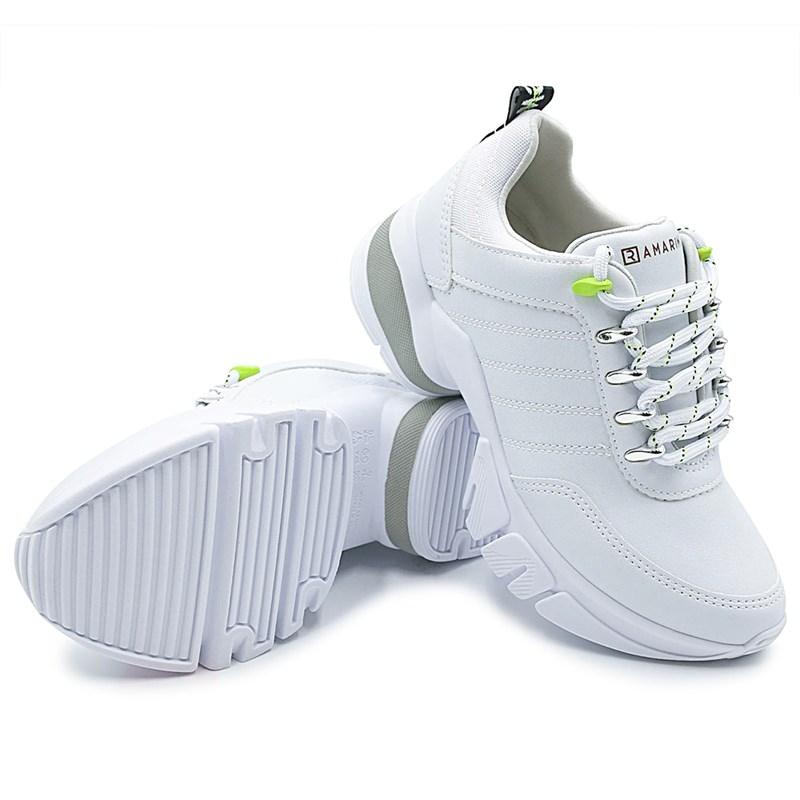 Tenis Plataforma Feminino Ramarim Branco - 232432