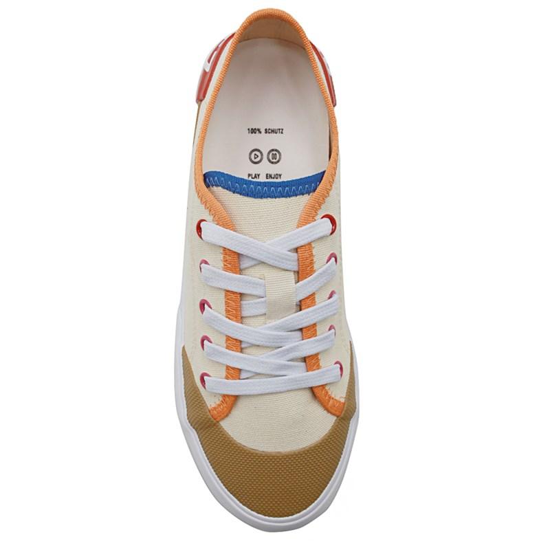 Tenis Schutz Cru/Bright Tangerine - 234426