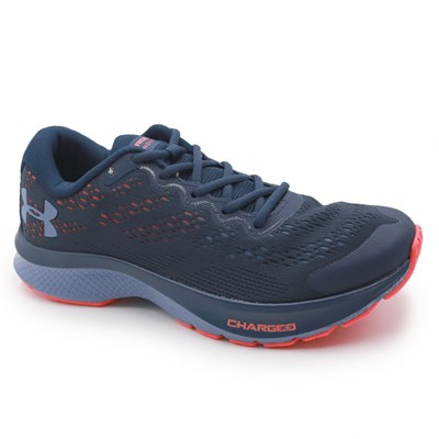 Tenis Under Armour Charged Bandit 6 Academy/R.Red/Mnblue - 237440