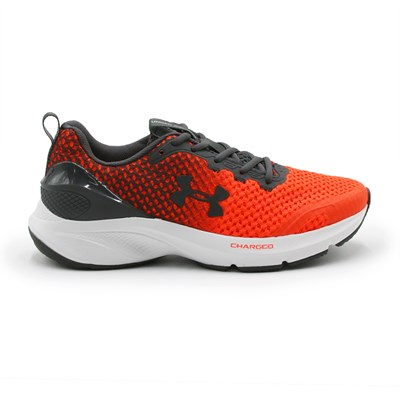 Tenis Under Armour Charged Prompt Vermelho/Cinza - 237477