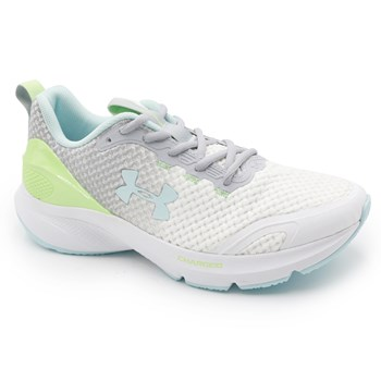 Tenis Under Armour Charged Prompt White /M.Gray /Brezze - 237477