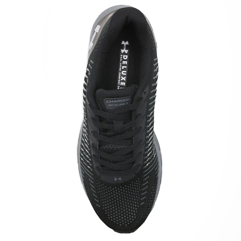 Tenis Under Armour Charged Skyline 2 Black/Gray - 237479