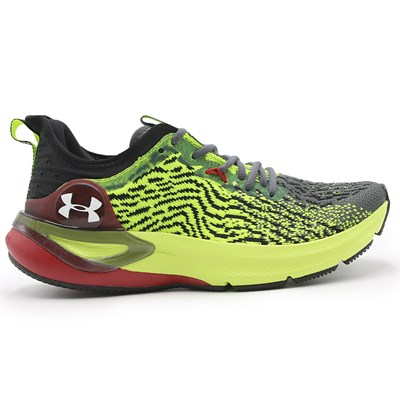 Tenis Under Armour Charged Stamina Black/Highv.Yellow/White - 238142
