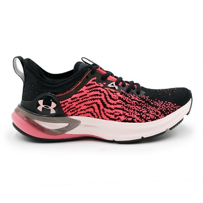 Tenis Under Armour Charged Stamina Preto/Coral - 244815