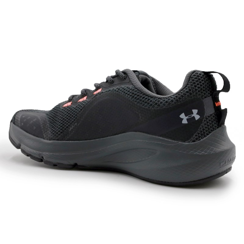 Tenis Under Armour Charged Surprass Black/P.Gray/B.Orange - 237478