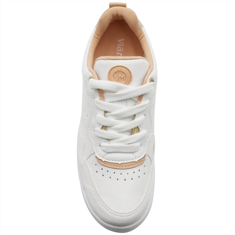 Tenis Via Marte Feminino Branco/Pessego - 244523